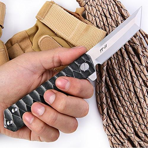 BGT Folding Bearing Knife Tools with Pattern Handle