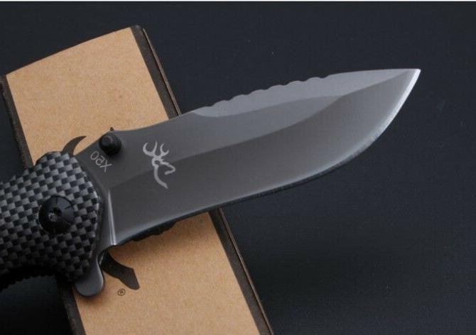 BROWNING Pocket Knife -New Camping Hiking IN