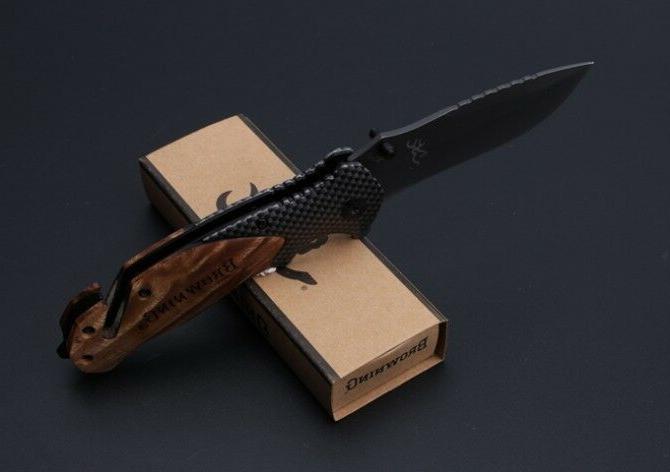 BROWNING Pocket Knife Hiking Survival