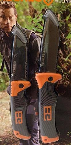 Gerber Bear Grylls Series Scout Folding Clip Knife and Foldi