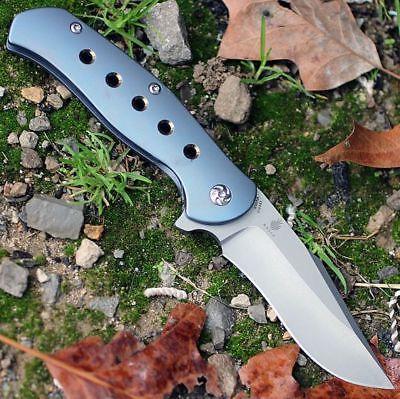 4495 lancer 2 flipper folding knife blue