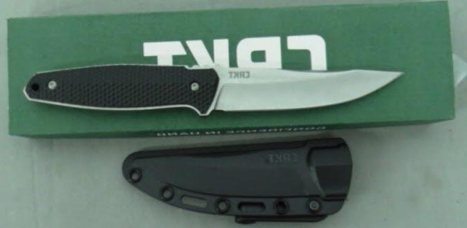 COLUMBIA RIVER KNIFE 1210 STRAFE CRKT FIXED BLADE FULL TANG
