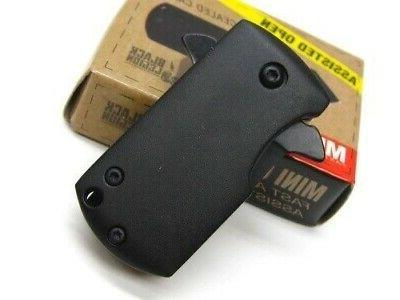 Black Mini Fast Opening Boot/Money Clip Tactical