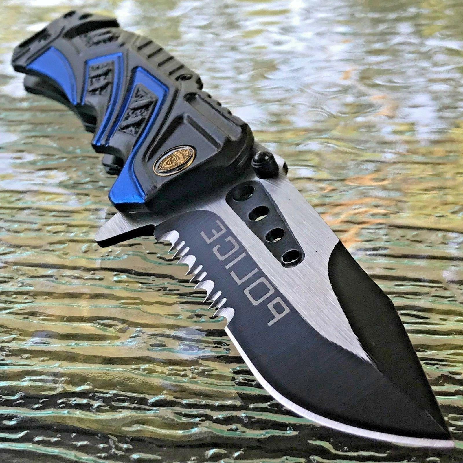 MTECH USA SPRING TACTICAL POCKET KNIFE 7.5""
