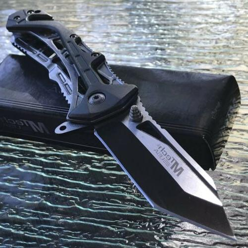 mtech usa tanto spring assisted tactical folding