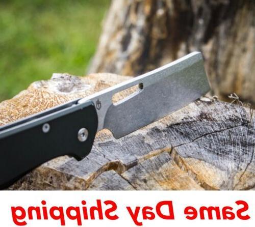 new flatiron folding knife stainless steel blade