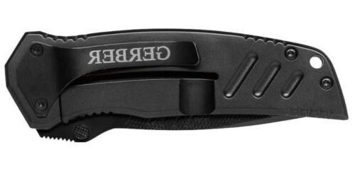 New, Gerber Clip Knife, Serrated Drop Point