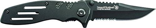 Smith & 7.1in Knife Point and Aluminum Handle Tactical Carry