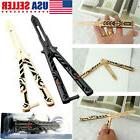 Overwatch Balisong Butterfly Knife Training Practice Metal S