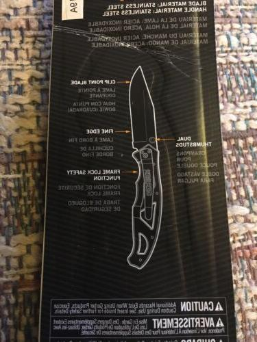 Gerber Paraframe Pocket Fine Edge Blade NEW