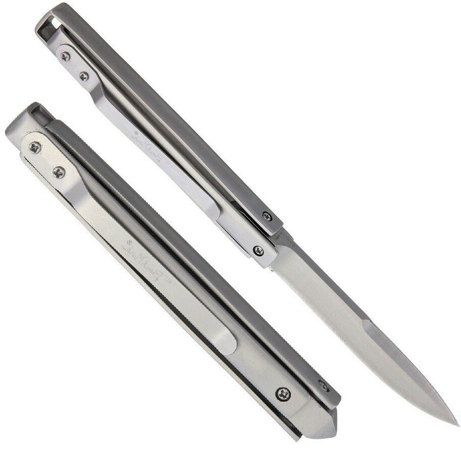 paratrooper folding knife 3 5 stainless steel