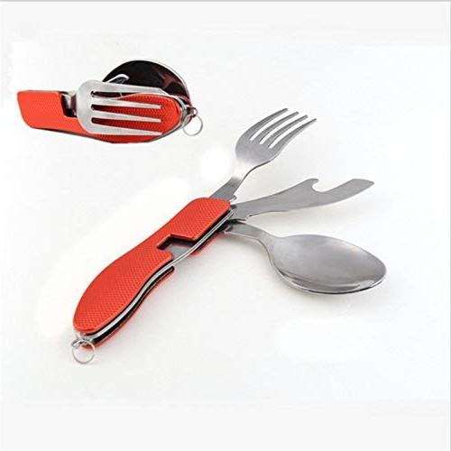 portable mini tableware set folding