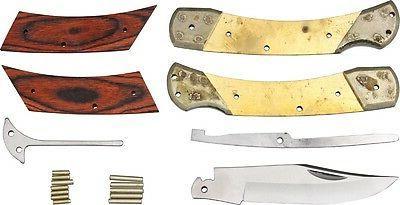 Rough RRCS1 Shop Large Folding Knife Kit Handle Folder