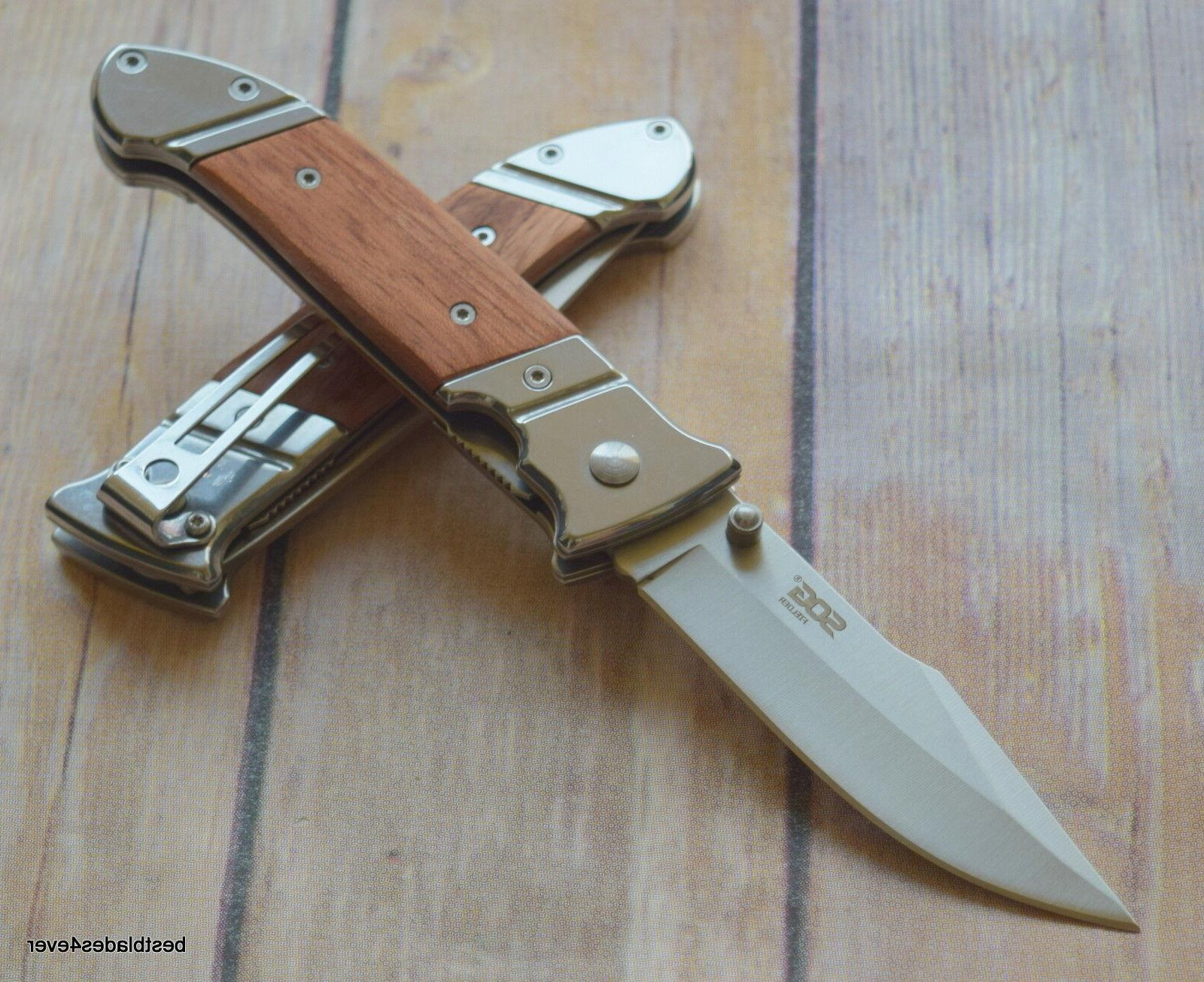 SOG LINERLOCK KNIFE WITH - 7.8