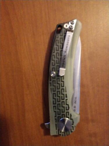 STEDEMON STEBG0103 BG01 SANDVIK JADE KNIFE