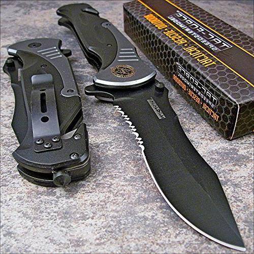 tac folding blade spring assisted