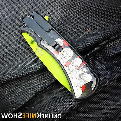Tactical Spring Pocket Knife