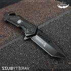 TACTICAL MILITARY Spring Assisted Pocket Knife USMC MARINES