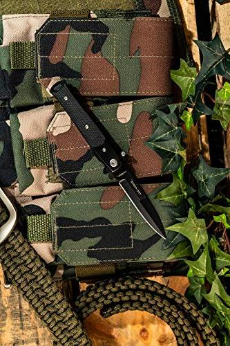 TAC Opening Knife, Spear Point Blade, G10
