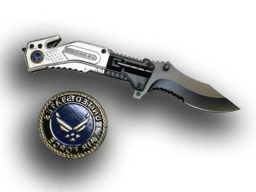 usaf silver air force spring assisted tactical