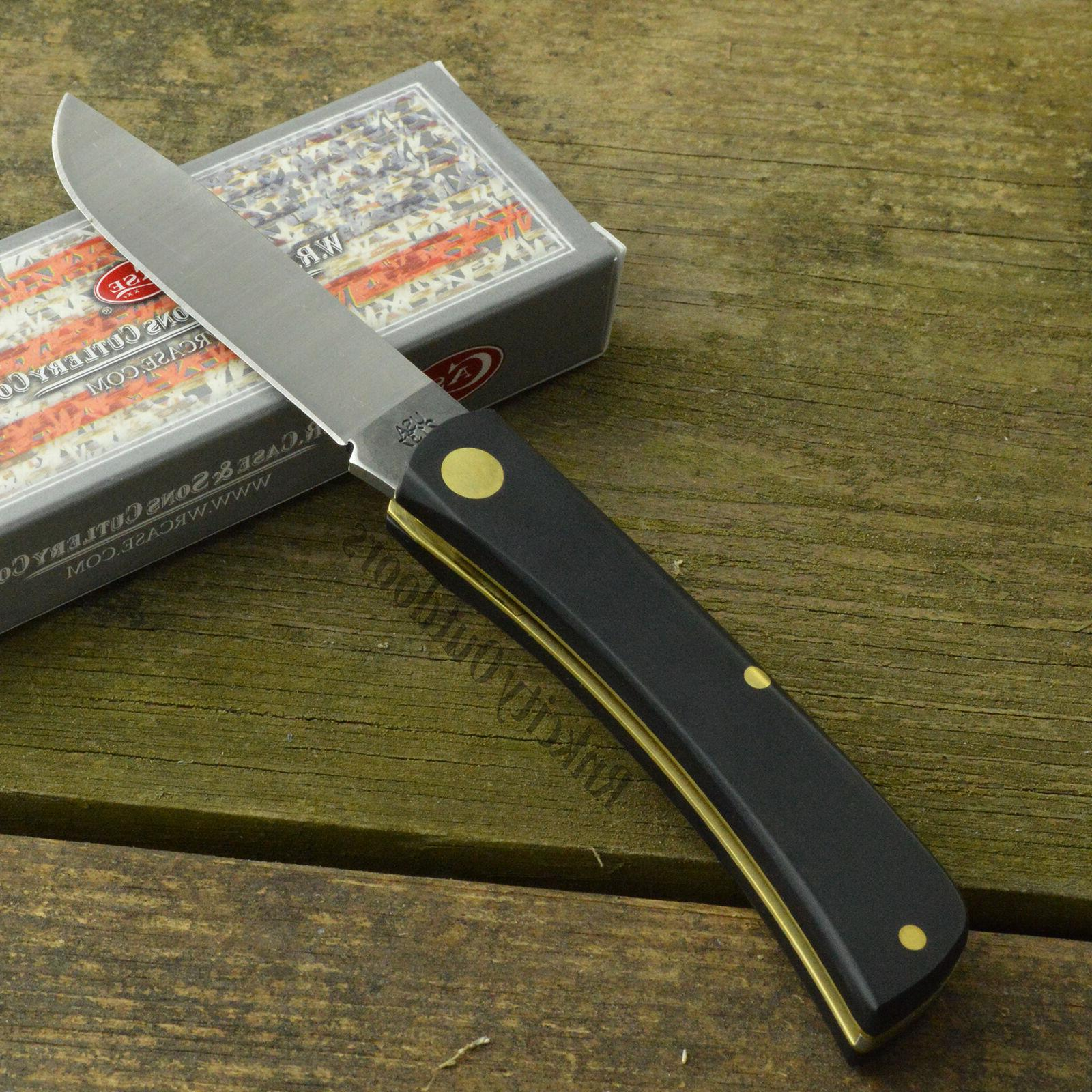 Case XX Black Folding Pocket Knife 00095