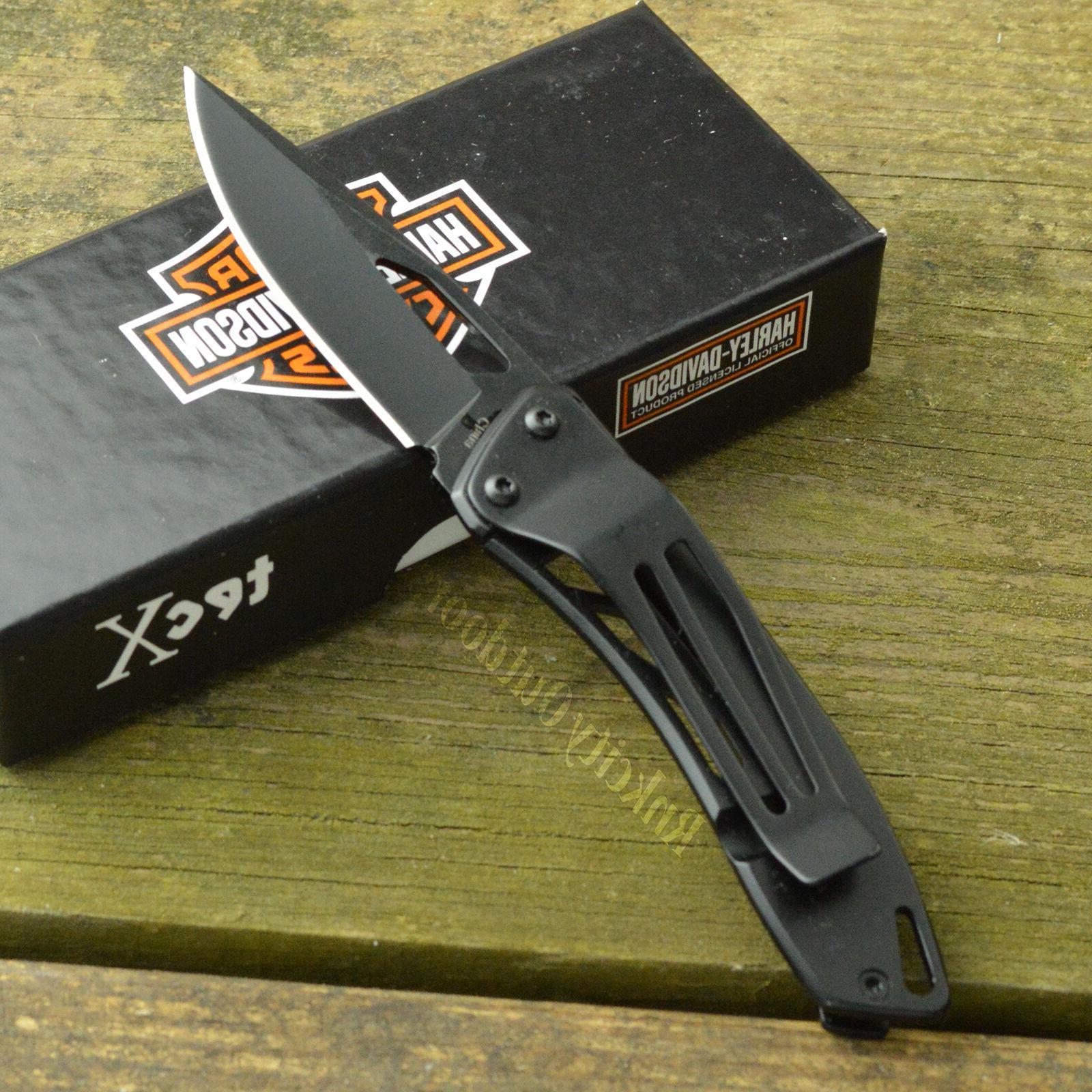 Case XX TEC Dinero Harley Clip Folding 52080