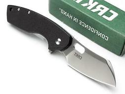 CRKT Large Pilar Folding Framelock Pocket Knife G10 Manual O