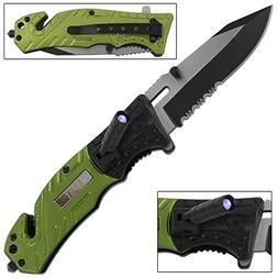 Lethal Defender Army Folding Pocket Knife