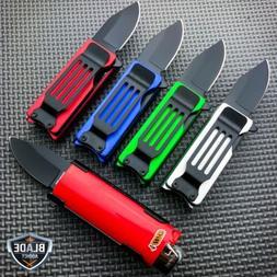Lighter Holder  w/ Spring Assisted Open Folding Pocket Knife