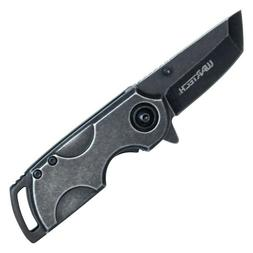 """Mini Small 5"""" Assisted Open Stonewashed Pocket Knife Tanto B"""
