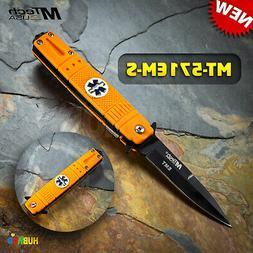 MTECH USA MT-571EM-S Tactical Folding Knife 4-Inch Closed