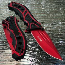 """MTECH 8.25"""" USA SPRING ASSISTED TACTICAL FOLDING POCKET KNIF"""