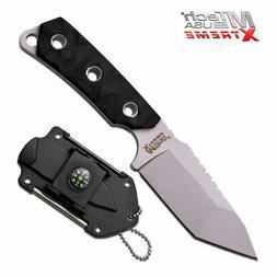 "MTech USA XTREME MX-8131BK NECK KNIFE 5.5"" OVERALL NIB"