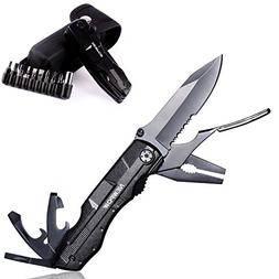 Multi-Tool Knife Pliers 3.1-Inch Stainless Steel Combo Blade
