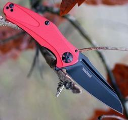 KERSHAW NATRIX XS SUB FRAMELOCK FOLDING FLIPPER KNIFE KVT BE
