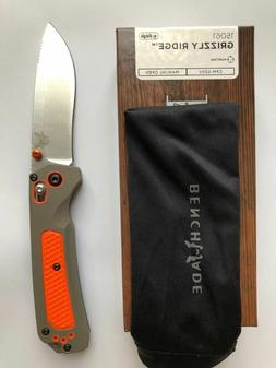 NEW Benchmade 15061 Grizzly Ridge Folding Blade Hunting Knif