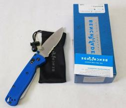 NEW 2017 Benchmade 535S Bugout Folding Knife - Blue