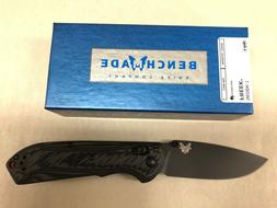 NEW Benchmade 560BK-1 Freek Axis Lock Plain Edge Black CPM-M