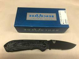 NEW Benchmade 560SBK-1 Freek Axis Lock Combo Edge Black CPM-