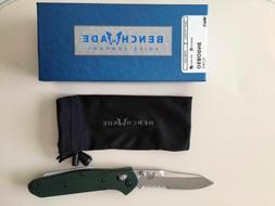 New Benchmade 940S Osborne Folding Knife Satin Serrated Blad