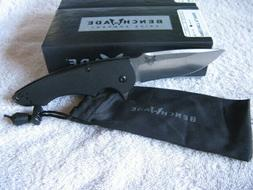 NEW IN BOX BENCHMADE 320 PRECINCT FLIPPER FOLDING POCKET KNI
