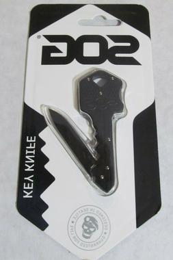 NEW SOG KEY-101 KEY KNIFE LOCKBACK FOLDING STAINLESS STEEL B