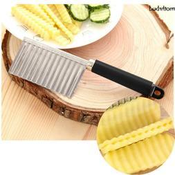 New Potato Fold Cutter Kitchen Accessories Vegetable Cutting