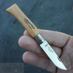 "Opinel No 4 Folder Folding Knife 2"" Stainless Steel Blade Be"