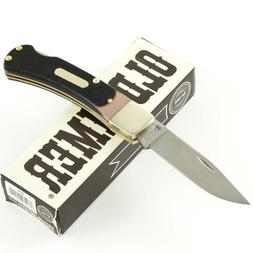 SCHRADE Old Timer BEARHEAD LOCKBACK Pocket Knife 3OT Brown S