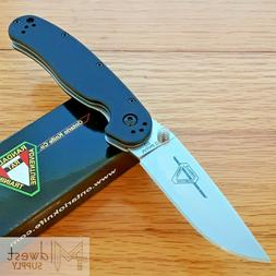 ontario rat ii folding knife 3 d2