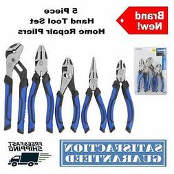 KOBALT 6 piece PLIERS needle slip channel lock linesman diag