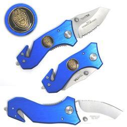 Mtech Police Law Enforcement Pocket Knife