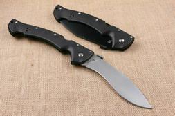 "Cold Steel Rajah 2 Folding Knife 6"" AUS-10A Steel Blade Griv"