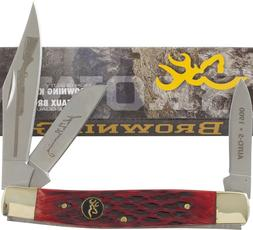 Browning Red Stainless Blade, 3 7/8 in. Closed